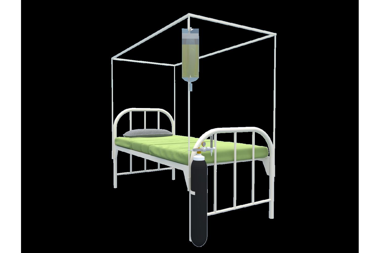 HOSPITAL  ISOLATION BED (Ply Base )