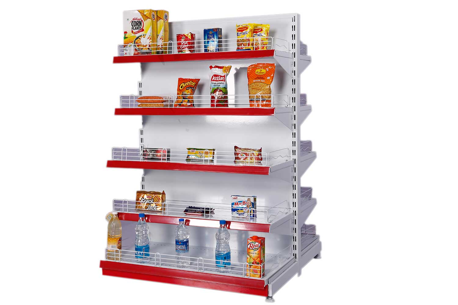 GONDOLA DISPLAY SHELVING - FLOOR